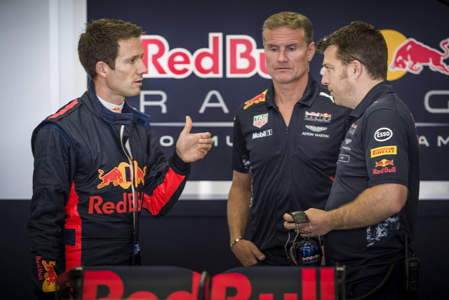 F1 Forma-1 Red Bull Sebastien Ogier David Coulthard Red Bull Ring