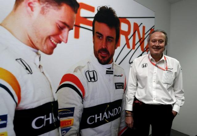F1 Forma-1 Mansour Ojjeh McLaren-Honda Mercedes Azerbajdzsáni Nagydíj
