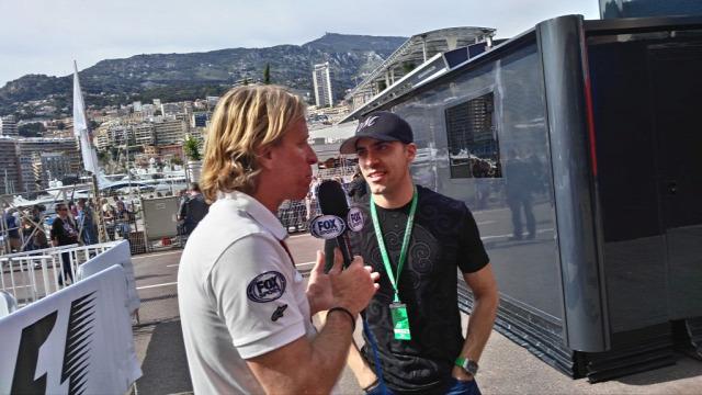 F1 Forma-1 Pastor Maldonado Monacói Nagydíj