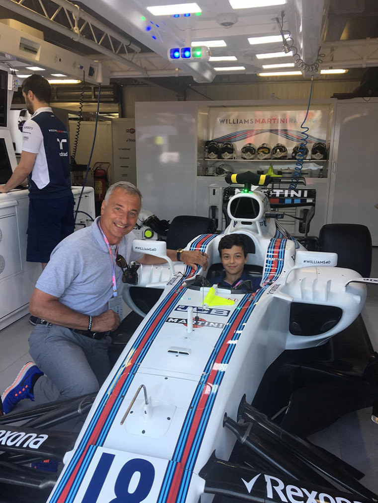 F1 Forma-1 Riccardo Patrese Williams Lorenzo Patrese