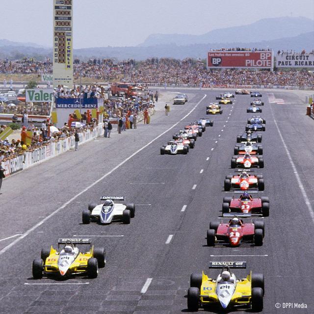 F1 Forma-1 Paul Ricard Francia Nagydíj Romain Grosjean Jean Alesi