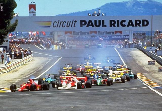 F1 Forma-1 Paul Ricard Francia Nagydíj