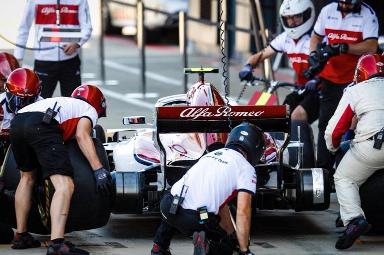 F1 Forma-1 Simone Resta Sauber Ferrari Hockenheim Német Nagydíj