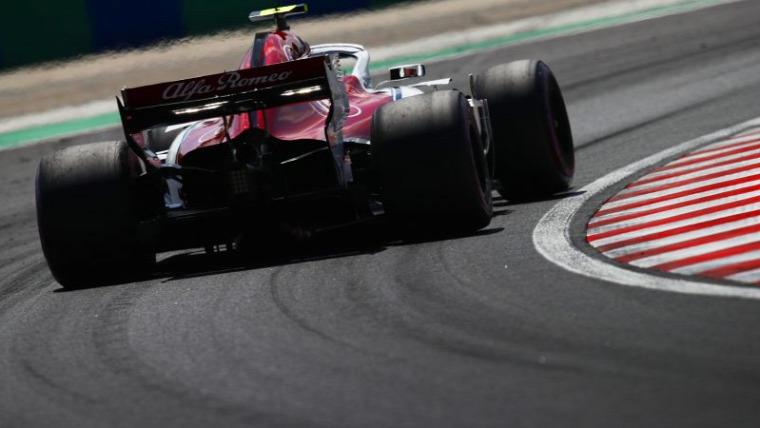 F1 Forma-1 Alfa Romeo Racing Ferrari Kimi Raikkönen Antonio Giovinazzi Fred Vasseur Maurizio Arrivabene
