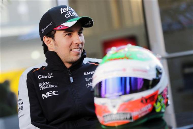 F1 Forma-1 Sergio Perez Force India Nico Hülkenberg Mexikói Nagydíj