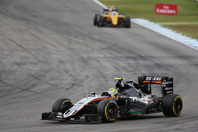 F1 Forma-1 Sergio Perez Force India Renault