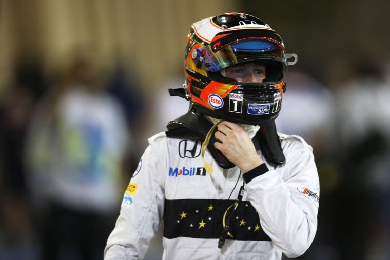 F1 Forma-1 Stoffel Vandoorne McLaren-Honda