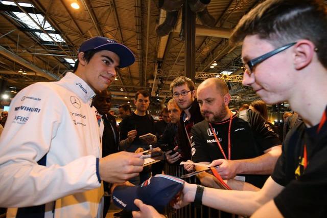 F1 Forma-1 Lance Stroll Williams Lawrence Stroll