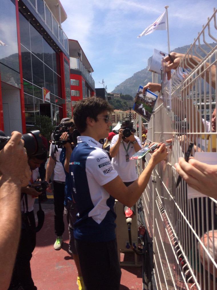 F1 Forma-1 Lance Stroll Williams Monacói Nagydíj