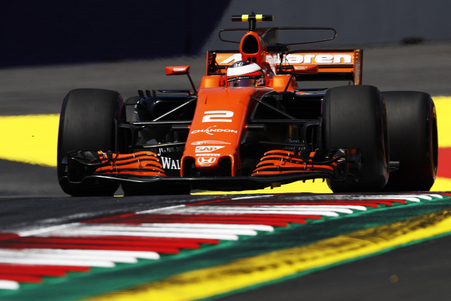 F1 Forma-1 Stoffel Vandoorne Fernando Alonso McLaren-Honda