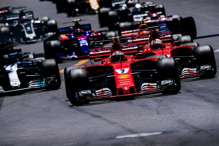 F1 Forma-1 Kimi Räikkönen Sebastian Vettel Ferrari Monacói Nagydíj Jean Alesi Alain Prost
