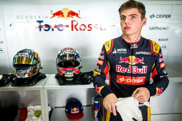 F1 Forma-1 Max Verstappen Toro Rosso