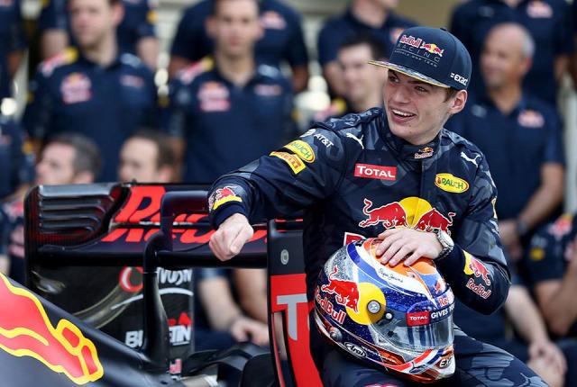 F1 Forma-1 Max Verstappen Red Bull Jos Verstappen