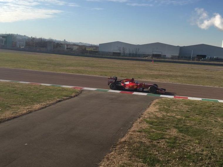 F1 Forma-1 Ferrari Sebastian Vettel Forma-1 teszt Fiorano