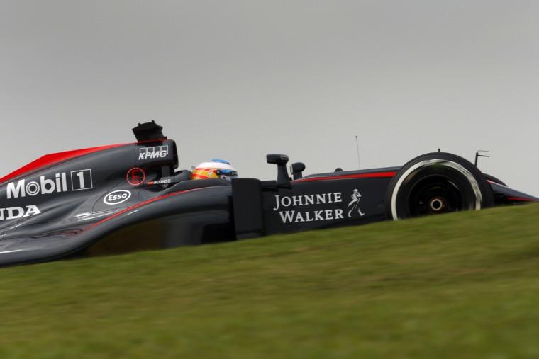 F1 Forma-1 McLaren-Honda Jenson Button Fernando Alonso