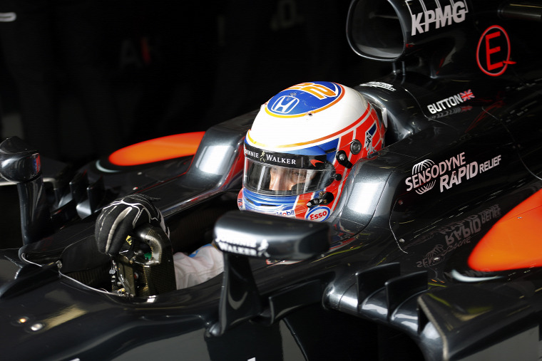 F1 Forma-1 Jenson Button McLaren-Honda Monacói Nagydíj