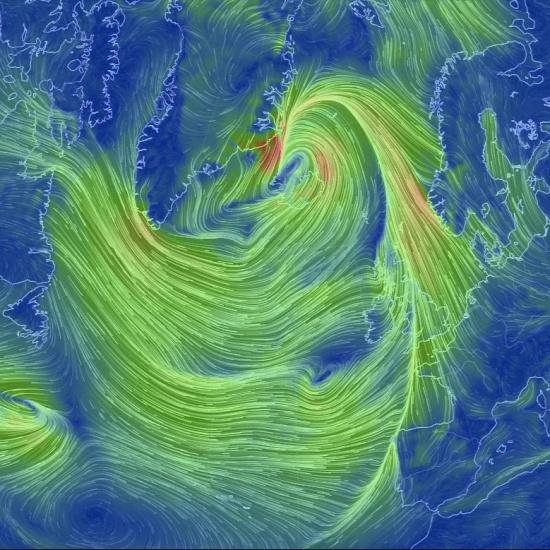 meteorológia időjárás térkép