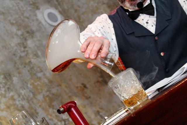 receptúra smoky nail lowland lassie old fashioned arran old fashioned arran whisk(e)y talisker timorous beastie johnnie walker drambuie glenkinchie rock oyster robert burns haggis cranachan alchemists night scotch whisky