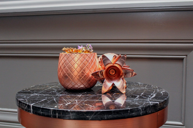 receptúra deák street kitchen ritz-carlton hendricks st germain gin russian standard vodka spring break grapefruit bay heisenberg illegal mezcal monkey shoulder whisk(e)y elyx pineapple absolut talisker mandarin napoleon kreinbacher pezsgő