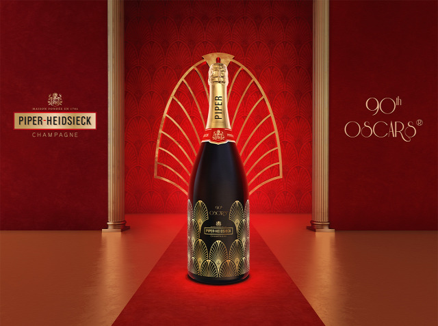 piper-heidsieck champagne pezsgő oscar