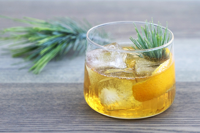 receptúra whisk(e)y old fashioned rye and pine old fashioned