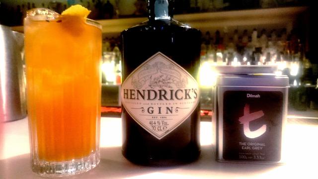 receptúra gin hendricks dilmah tea robert schinkel