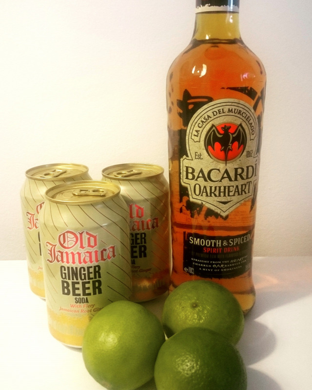 bacardi oakandginger rum receptúra old jamaica