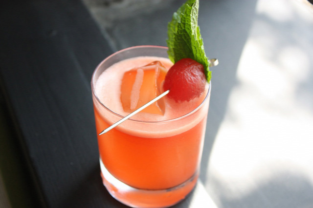 receptúra tequila aperol sandia watermelon
