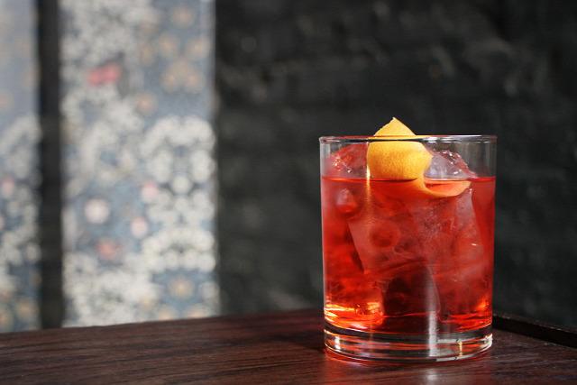 receptúra negroni rosé negroni cocchi rosa campari bor pezsgő