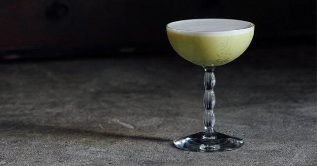 receptúra pistachio flip gin