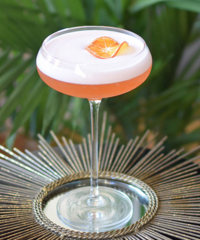 receptúra the venetian sunrise aperol rum