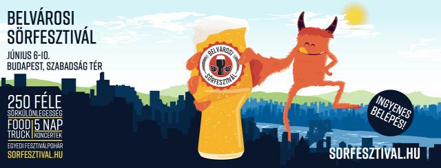 belvárosi sörfesztivál sör