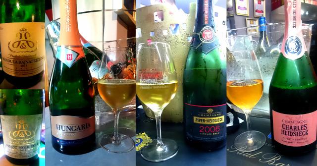 budapest borfesztivál hungaria piper-heidsieck charles heidsieck szentesi pince pezsgő champagne kreinbacher