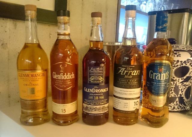 whisky show whisk(e)y glenmorangie glenfiddich glendronach arran grants