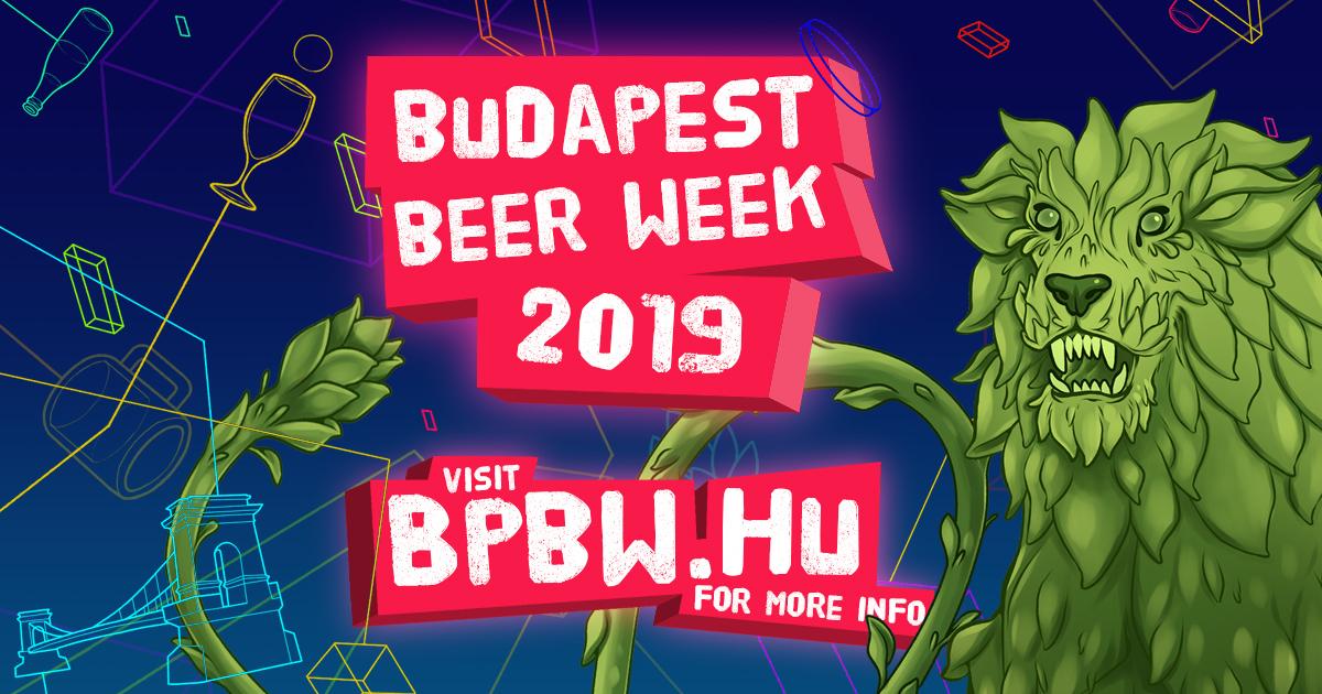 bpbw sör budapest beer week