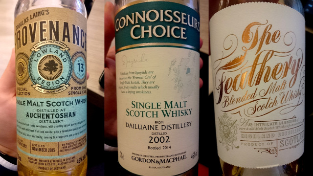 auchentoshan douglas laings connoisseurs choice gordon and macphail the feathery spencerfield spice king wemyss ledaig wilson and morgan lossit the lost distillery whisk(e)y scotch whisky whiskynet kóstoló
