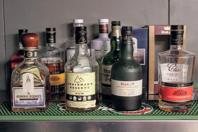 rum gin admiral rodney chairmans reserve rhum jm clément british west indies hans de lang ken rose aurelie kalifa negroni punch