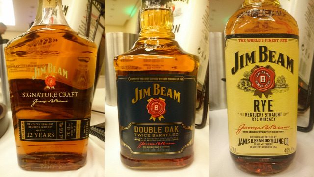 whisk(e)y jim beam basil haydens bookers knob creek bourbon whiskey rye whiskey heinemann