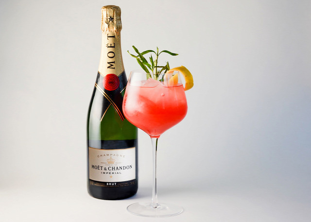 moet et chandon receptúra vodka champagne golden globe