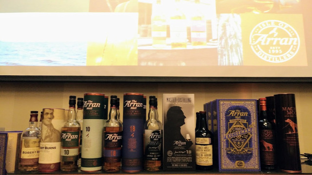 andy bell kóstoló arran whisk(e)y scotch whisky whiskynet