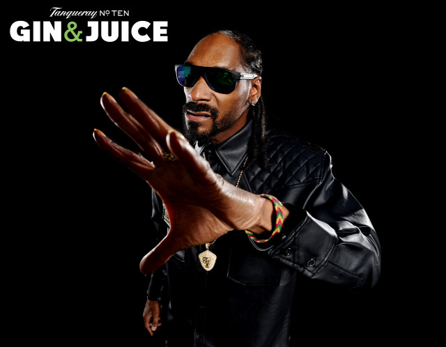 laid back receptúra tanqueray ciroc gin vodka gin and juice snoop dogg