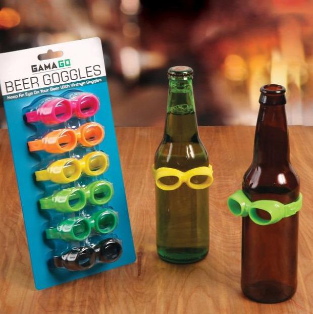 Hétvégi dizájn üveg pohár jelölő palack