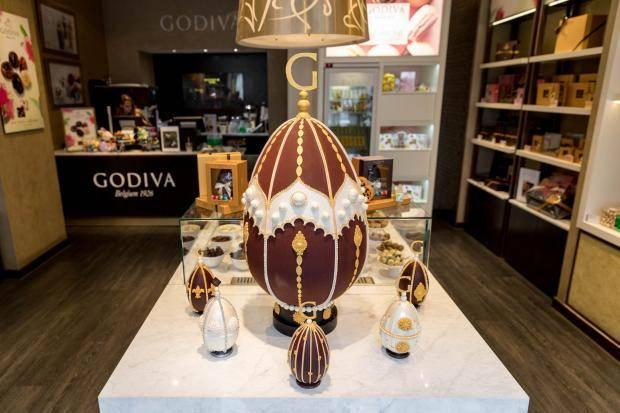 dizájn húsvét csoki tojás legnagyobb legdrágább