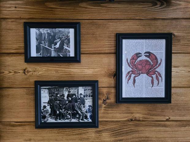 dizájn legkisebb bár pub kocsma crab