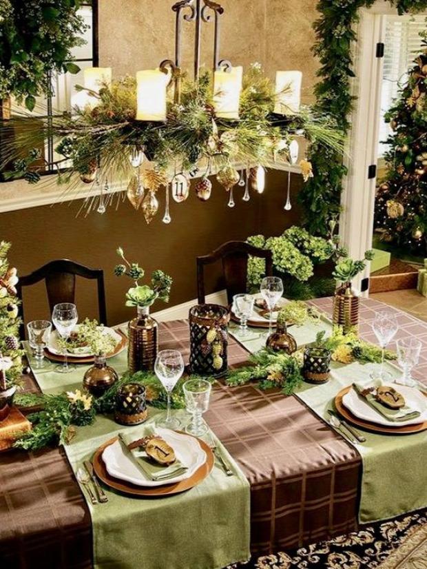 dizájn karácsony asztal