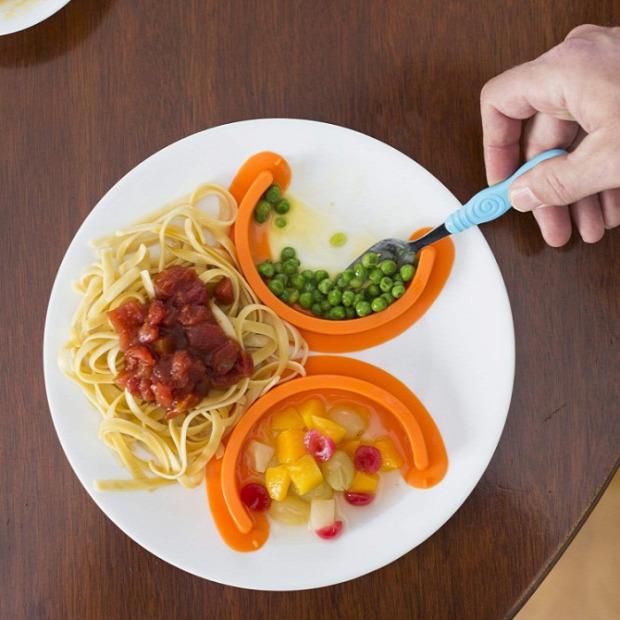 Hétvégi dizájn étel elválasztó
