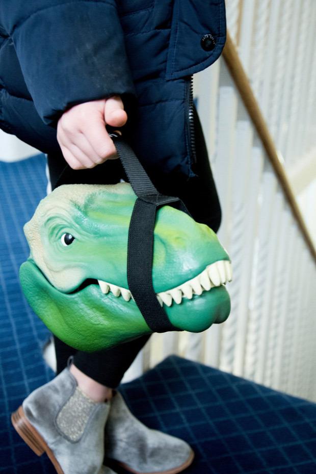 hétvégi dizájn ételdoboz dino T-Rex