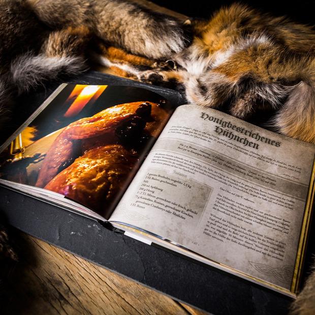 Hétvégi dizájn Trónok harca szakácskönyv