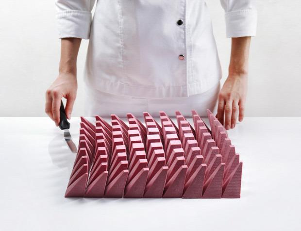 dizájn sütemény rubin csoki építész tervez