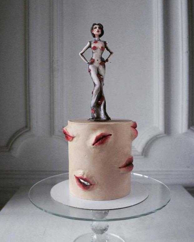 dizájn orosz torta